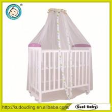 Cama de bebê de design novo modelo de madeira
