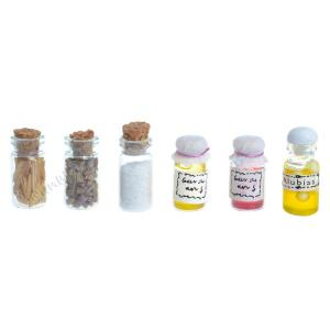 Fairy Door Accessories Footprint Dust in Glass Bottle