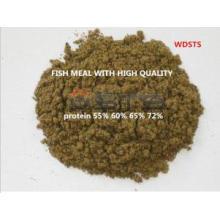 Harina de pescado con alto contenido proteínico para alimentación animal
