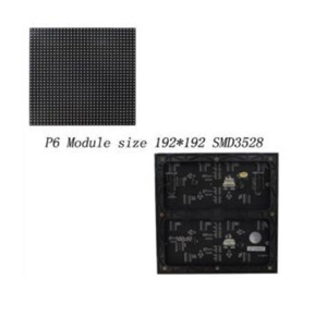High Quality  P6 Indoor Led Display Module