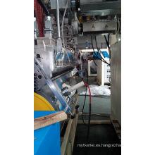 Estiramiento de LLDPE 3 capa automática extrusión de película