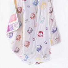 6 capas Musel Mushroom Blanket Baby Towel