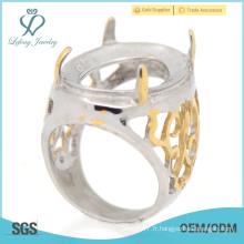 Prix en vrac poids léger garçons en acier inoxydable indonesia rings design prix de gros