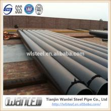 стандарт ASTM труба a53b в 106 большого диаметра гофрированных дренажных труб