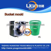 TUV ensamblaje molde de fábrica / nuevo diseño de plástico cubo de moldeo por inyección en China