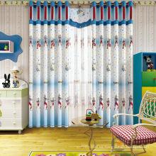 Cortina de tela de impresión Ultraman combinada con muebles de sala de niños