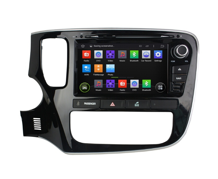 Car Audio Player For Mitsubishi Outlander 2015