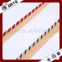 blue and red color beautiful Decorative Rope for sofa decoration or home decoration accessory,decorative cord,6mm