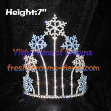 7inch Snowflake Christmas Crowns