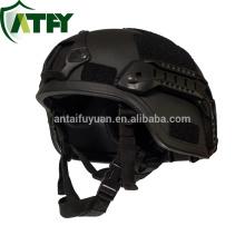 NIJ IIIA 9mm o 0,44 MICH casco balístico kevlar no metálico