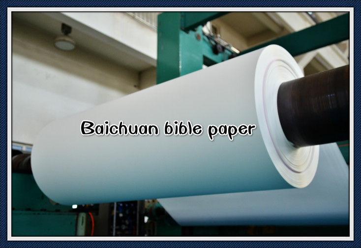natural white bible paper
