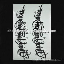 OEM atacado rune tatuagem braço tatuagem tatuagens tatuagem tatuagem Tatuagens temporárias para a mão W-1096