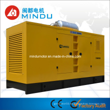 Generador de poder diesel silencioso de la alta reputación 250kw Weichai
