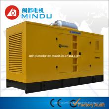 Générateur d'énergie diesel silencieux de haute réputation 250kw Weichai
