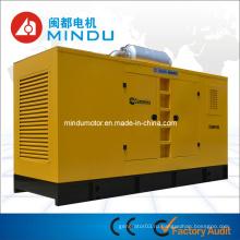 Высокая Репутация 250квт Молчком Тепловозный генератор силы weichai