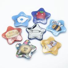 Wholesale High Quality Heart Shape Metal Button Badge