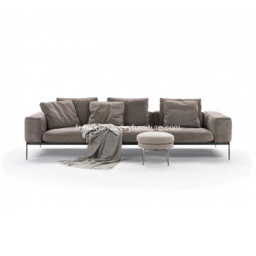 Sofa sectionnel Flexform Lifesteel version 3 places