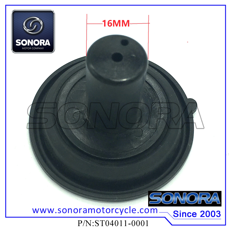ST04011-0001 139QMA GY6 50,60,80 Keihin 16MM Carburettor Diaphragm (1)