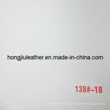 Couro de óleo de cera branca de couro falso (Hongjiu-138 #)