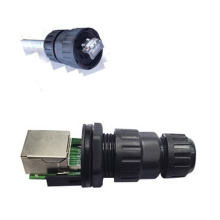 RJ45 Cat5e CAT6 Waterproof Connector