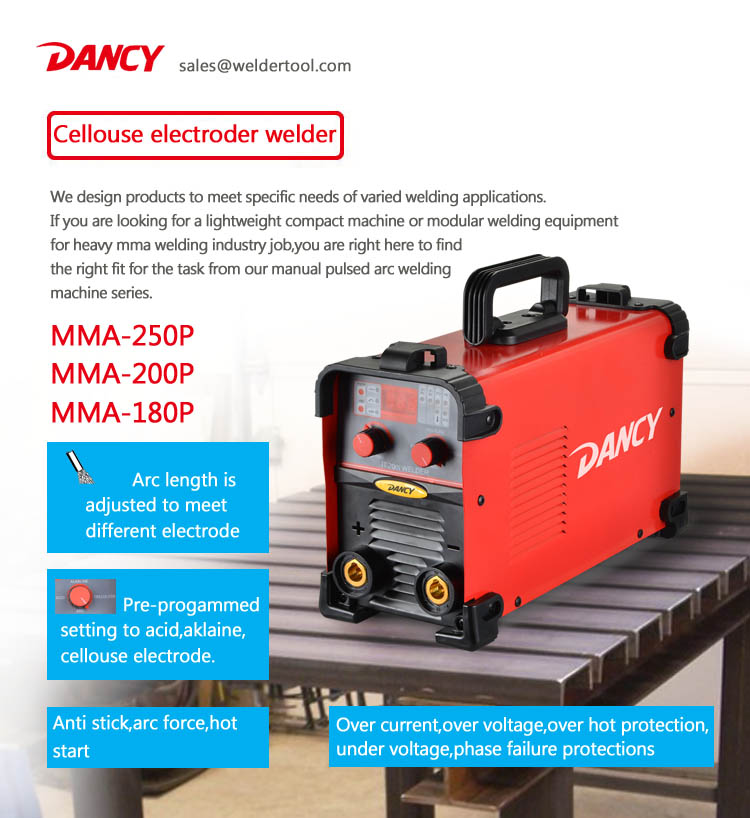 Hot selling Pulsing Stick Arc Welding machine MMA200p