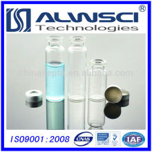 China supplier 20ml vial Aluminum crimp caps with PTFE/silicone Septa for GC