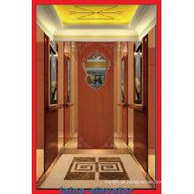 Porta de Abertura Lateral e Dispositivo Auto Rescuse Elevador de Passageiros