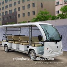 Carro sightseeing elétrico 72v / ônibus sightseeing elétrico com 8 11 14 assentos para venda