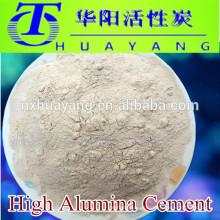 Al2O3 70% refractario alto proveedor de cemento de alúmina
