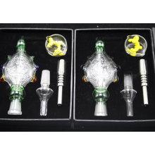 Heißer Verkauf Glaspfeife 14mm Turtles Nectar Collector