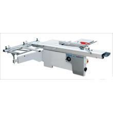 Scie à table coulissante pour travail du bois avec poignées pour ajuster la hauteur et les angles