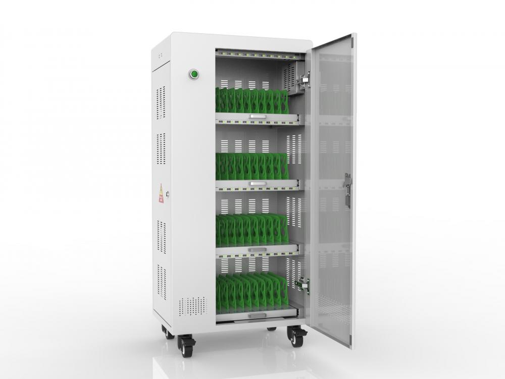 storage/charging cart for ipad/ipods