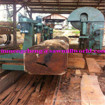 CNC Wood Cutting Band Saw Machine High Efficiency Log Bandsaw