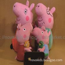 Cute Peppa Pig toys 19cm 30cm With Teddy Bear George Pig Plush Dol