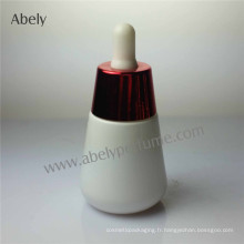 Brand Unisex Bouteilles d'huile de verre opale blanc