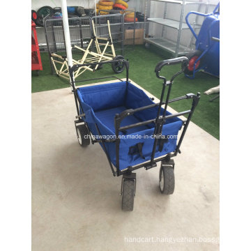 Blue Color Folding Wagon Canopy
