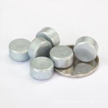 D126 Pequeño cilindro de revestimiento de zinc Imán