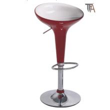 Modern Red Bar Stool para Bar Móveis