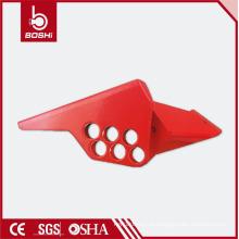 Alta qualidade! Os melhores bloqueios de válvulas de esfera padrão / Válvula de porta de tubulação grande / Fechaduras de segurança do interruptor de válvula Boshi