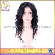 Tienda en línea barata del bebé Línea pelucas de pelo humano virginal de la línea del pelo del bebé