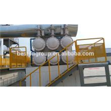 6-20 T / D altamente rentável usado borracha pirólise negro de carbono processamento