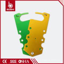 Cerradura del hasp del OEM con 7 agujeros BD-K53, etiquetado principal del bloqueo de BRADY para Industrial-grado que usa