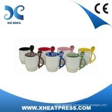Ceramic Mug with Spoon,Coffee Mug with Spoon