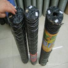 Rede de fio hexagonal para alimentação, galvanizado ou PVC
