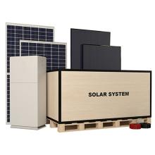 Green Energy High Quality On-Grid Solar Power Station 5Kw Pv Power Kit  Solar Home Solar Power System