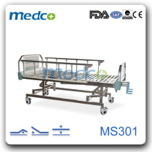 Three Cranks Manual Hospital Bed MS301