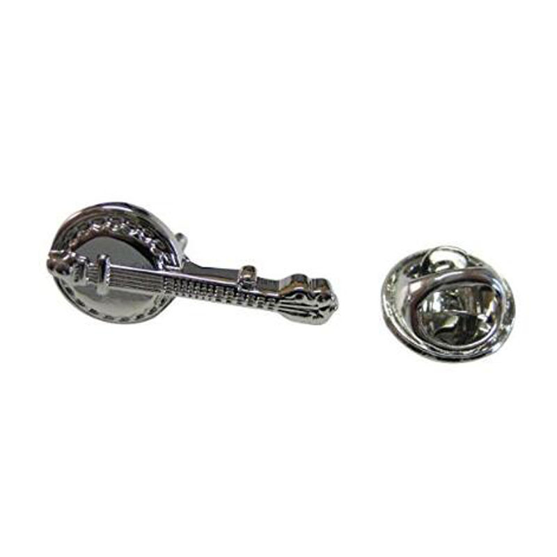 Banjo Music Instrument Lapel Pin