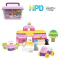 Story Building Block Toys with Storage Bucket