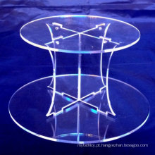Counter Clear Acrylic Cupcake Wedding Cake Stands