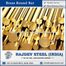 Superior Quality Brass Round Bar for Bulk Sale Available in Various Size and Materials